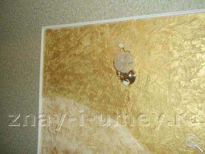 Декоративная отделка стены фото