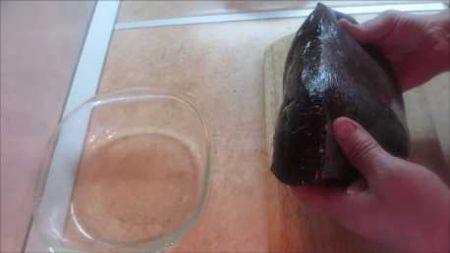 Как приготовить лосиную печень фото 02