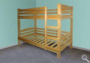 Как сделать двухъярусную кровать, чертежи двухъярусной кровати фото 01