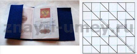 Обложка для паспорта своими руками фото 02