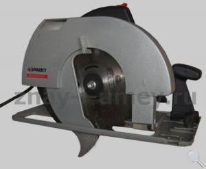 Ручная дисковая электропила фото