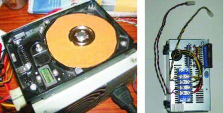 Самодельный шлифовальный станок из неисправного жесткого диска