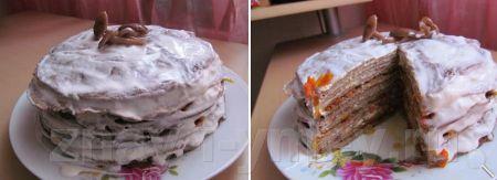 Торт из куриной печени фото 08
