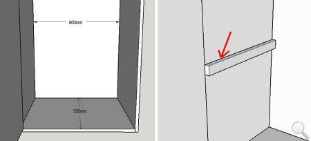 Выдвижная вешалка для брюк фото 02