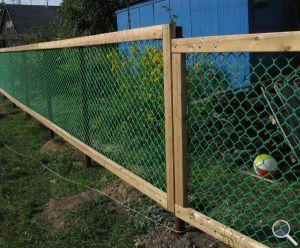 Забор на даче своими руками фото 01