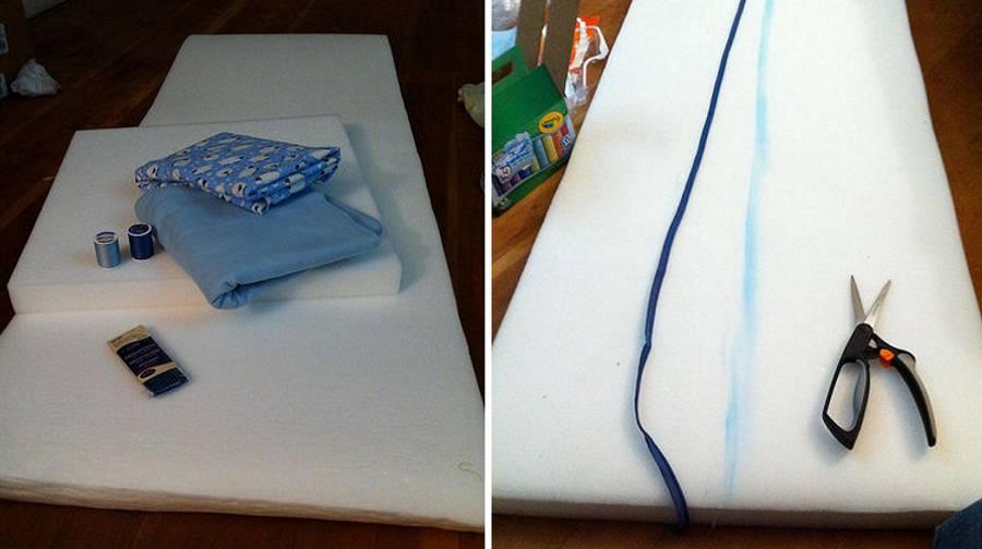 Как сшить матрасик в кроватку своими руками