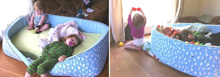 Сделать кровать манеж своими руками