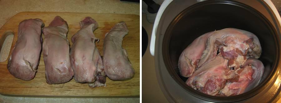 свиной приготовления Язык рецепт