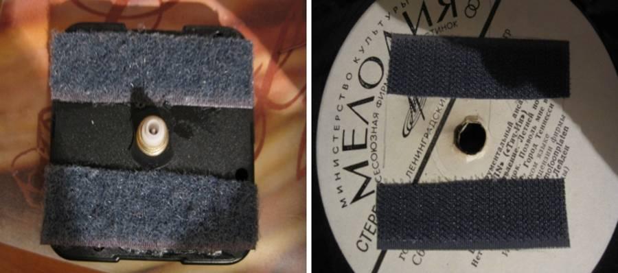 Часы виниловых пластинок своими руками