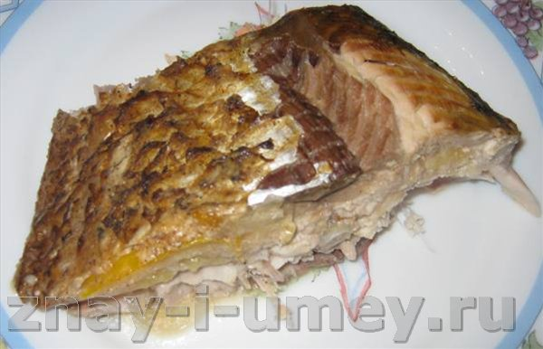 Потушить рыбу в духовке
