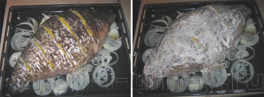 Как приготовить голавля в духовке рецепт пошагово