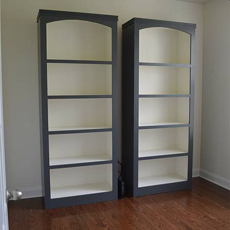 книжный шкаф своими руками чертежи фото порядок изготовления