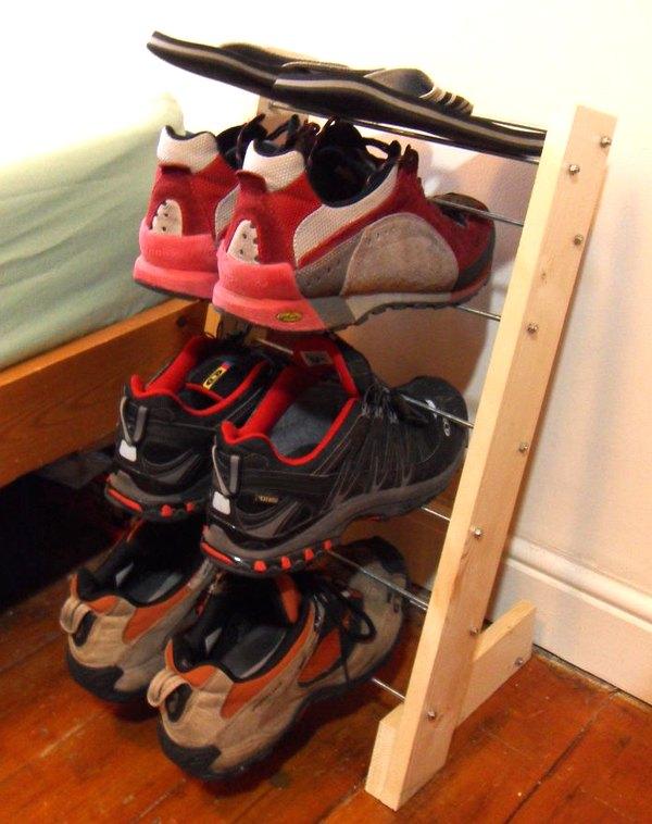 Подставка для туфель своими руками 5