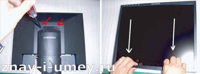 Ремонт монитора Samsung