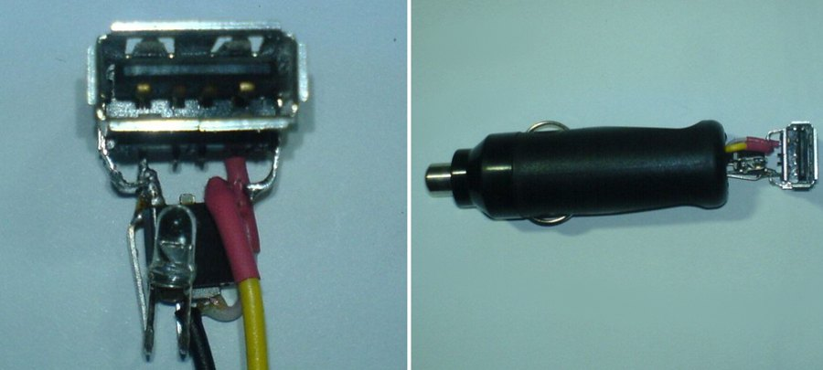 USB-зарядное устройство от