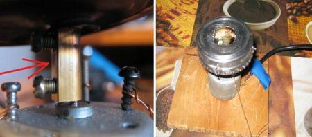 Самодельный аппарат для изготовления сахарной ваты фото 04