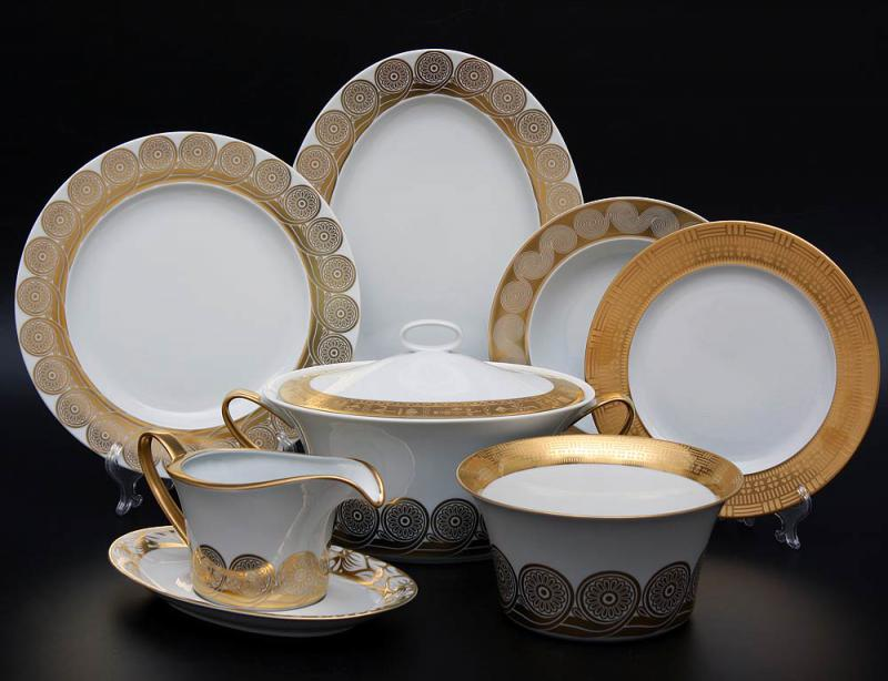 Фарфоровая посуда и способы ухода за ней