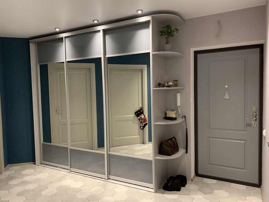 Встроенные шкафы. Стильно, удобно, практично!
