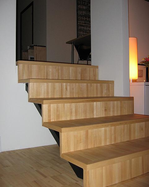 Типы напольных покрытий для лестниц