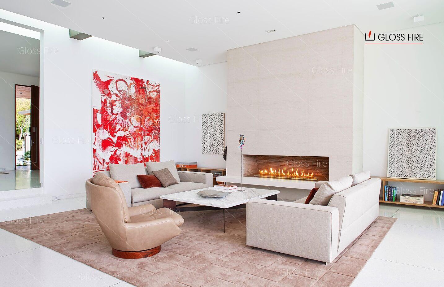Биокамин- уют и украшение дизайна квартиры