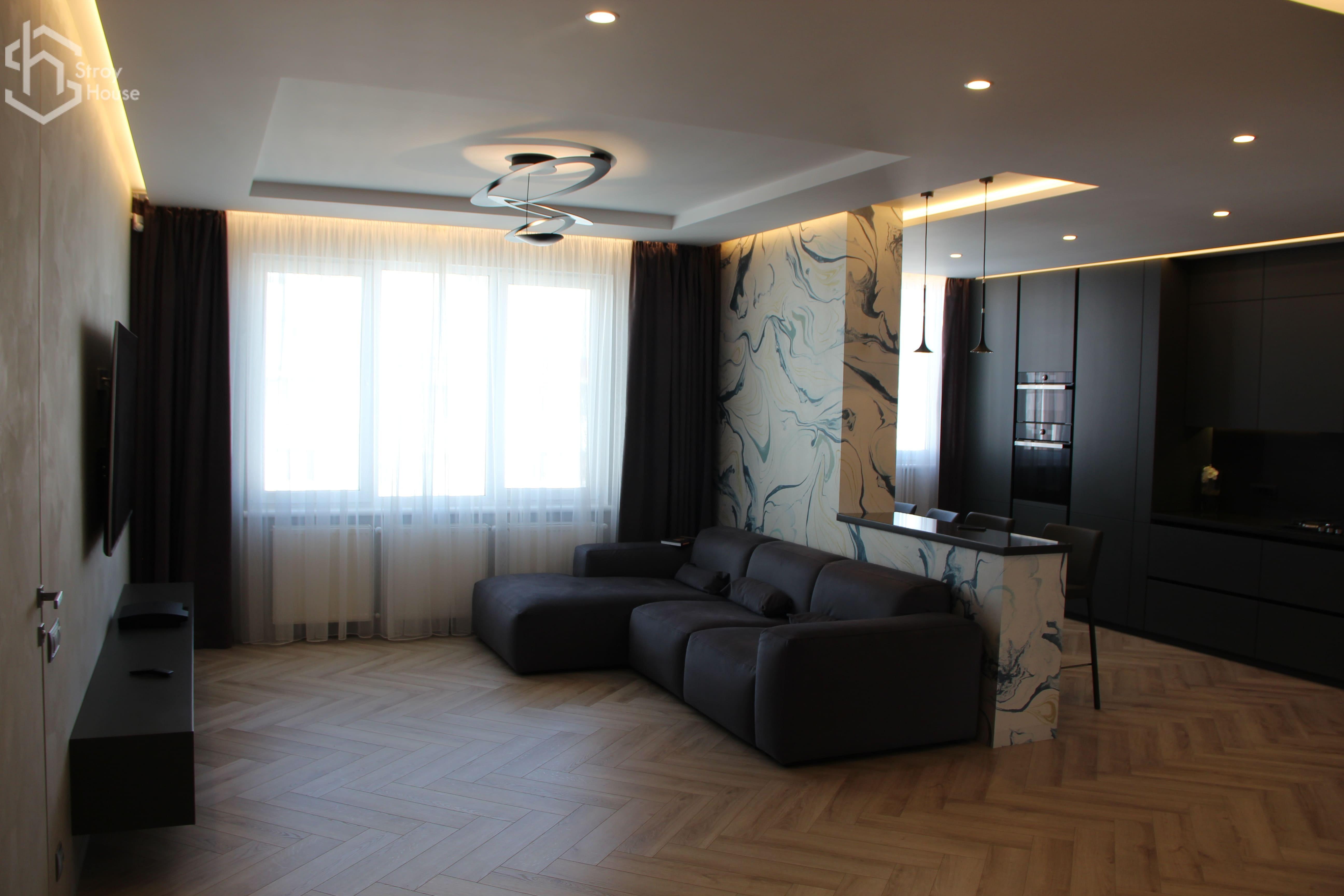 Дизайн квартиры под ключ от компании с высокой репутацией в Одессе: stroyhouse.od.ua
