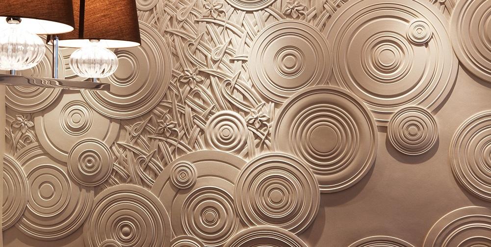 Декоративная штукатурки — рисунки, фактуры, стили